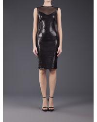 Twentycluny - Black Sequin Dress - Lyst