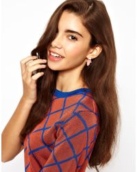 ASOS Collection - Multicolor Multipack Flower Jewel Earrings - Lyst