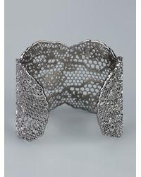 Aurelie Bidermann | Metallic Lace Bracelet | Lyst