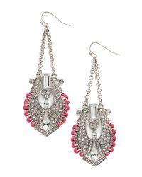 BaubleBar - Metallic Horus Drop Earrings - Lyst