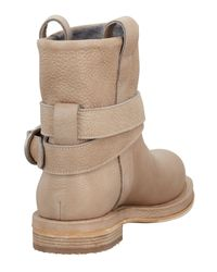 Brunello Cucinelli - Natural Ankle Boots - Lyst
