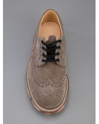 Church's Gray Camouflage Sole Brogue for men