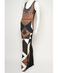 Givenchy | Multicolor Multi Print Maxi Dress | Lyst