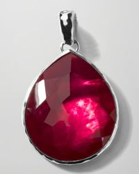 Ippolita | Purple Jumbo Raspberry Teardrop Enhancer | Lyst