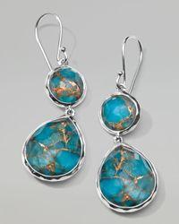 Ippolita | Blue Wonderland Snowman Turquoise Drop Earrings | Lyst