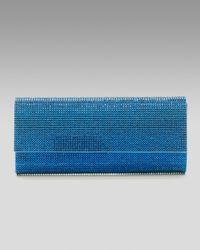 Judith Leiber | Womens Ritz Fizz Clutch Capri Blue | Lyst