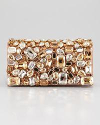 Prada Jeweled Clutch Bag in Multicolor | Lyst