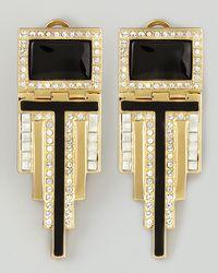 Rachel Zoe | Metallic Deco Drop Earrings | Lyst