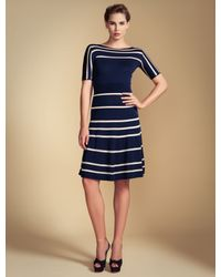 Temperley London | Blue Petra Sleeved Dress | Lyst