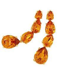 AZ Collection   Orange Tangerine Dangle Earrings   Lyst