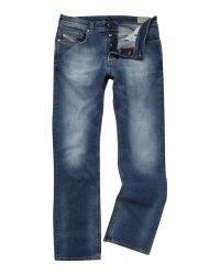 DIESEL | Blue Larkee Relaxed 811e Straight Fit Jeans for Men | Lyst