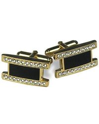 FORZIERI | Metallic Elegant Gold Plated Cuff Links for Men | Lyst
