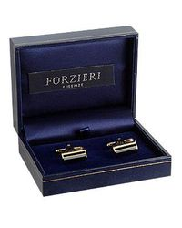 FORZIERI - Metallic Pitti - Unconventional Gold Plated Cuff Links for Men - Lyst