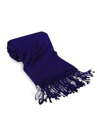 FORZIERI | Blue Cashmere and Wool-Blend Pashmina | Lyst
