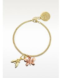 Patrizia Pepe | Metallic Precious Fly Two Tone Metal Bracelet | Lyst