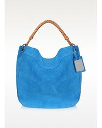 Ralph Lauren Collection | Natural Suede Bohemian Hobo | Lyst