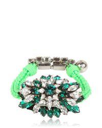 Shourouk | Green Baraka Sierra Emerald Bracelet | Lyst