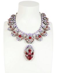 Shourouk | Purple Siam Necklace | Lyst