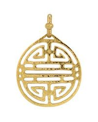 Torrini | Chinese Labyrinth - 18k Yellow Gold Pendant | Lyst