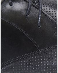 KG by Kurt Geiger | Black Kg By Kurt Geiger Carnival 2 Perforated Lace-up Shoes for Men | Lyst