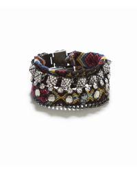 Zara | Green Pack Of 2 Thread Bracelets | Lyst