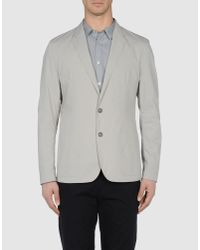 Edun - Gray Blazer for Men - Lyst