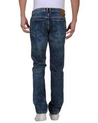 Dolce & Gabbana - Blue Denim Pants for Men - Lyst