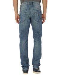 DIESEL | Blue Denim Trousers for Men | Lyst