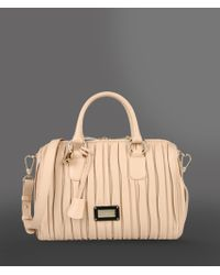 Lyst - Emporio Armani Baby Tote Bag in Pink 6213fd2d63b94