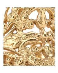 Iam By Ileana Makri - Metallic Chantilly Yellow Goldplated Ring - Lyst