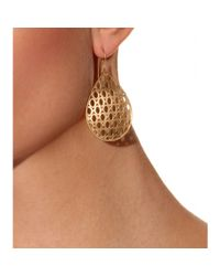 Jamie Wolf | Metallic 18kt Yellow Gold Woven Aladdin Earrings | Lyst