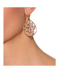 Jamie Wolf - Metallic 18Kt Yellow Gold Acorn Earrings With Marquis- Rose Quartz - Lyst