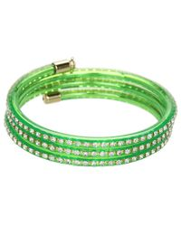 Marc By Marc Jacobs - Green Slinky Bangle - Lyst