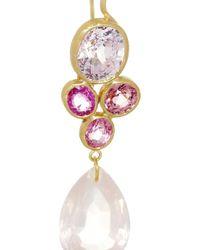 Marie-hélène De Taillac - Metallic Monte Carlo 18karat Gold Multistone Earrings - Lyst