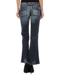 Pepe Jeans - Blue Denim Trousers - Lyst