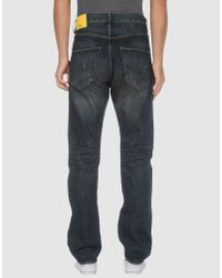 Wesc - Blue Denim Trousers for Men - Lyst