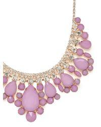 BaubleBar | Metallic Lilac Snow Collar | Lyst