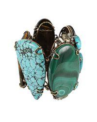 Iradj Moini - Blue Malachine Turquoise and Tiger Eye Bracelet - Lyst