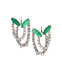 Nak Armstrong | Green Malachite and Mint Quartz Earrings | Lyst