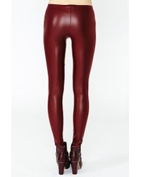 Nasty Gal Red Punch Harness Boot Oxblood