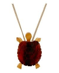 Tatty Devine | Metallic Tortoise Necklace | Lyst