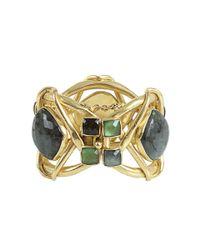 Vaubel - Metallic Labradorite Stone Bracelet - Lyst