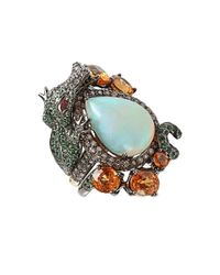 Wendy Yue | Multicolor Opal Dragon Ring | Lyst