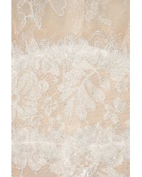Alessandra Rich - Natural Pretty Baby Ruffled Lace Gown - Lyst