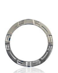 Balmain - Metallic Metal Circle Bracelet - Lyst