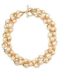 Jaeger | Metallic Acorn Pearl Necklace | Lyst