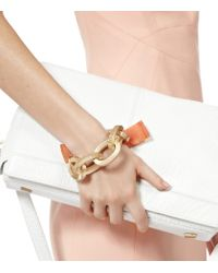 Reiss - Metallic Adrienne Chunky Chain Bracelet - Lyst