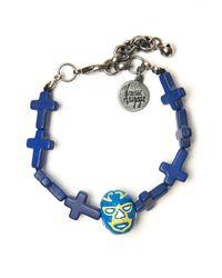 Venessa Arizaga - Blue Mucha Libre Bracelet - Lyst
