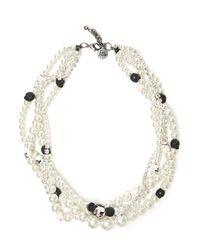 Venessa Arizaga - Metallic Secret Love Necklace - Lyst