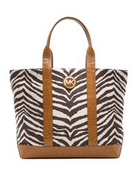 Michael Kors | Multicolor Large Canvas Tote | Lyst